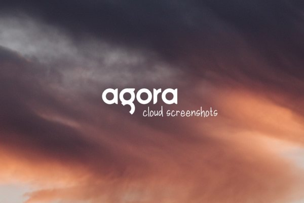 agora cloud screenshots hero image