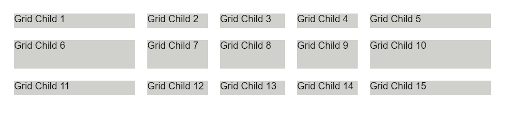 Grid Template Areas