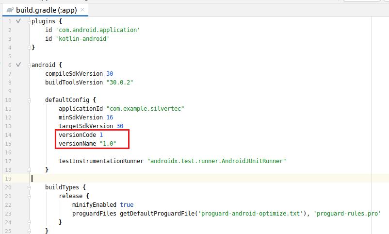 Version Code Name