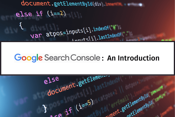 google search console header image