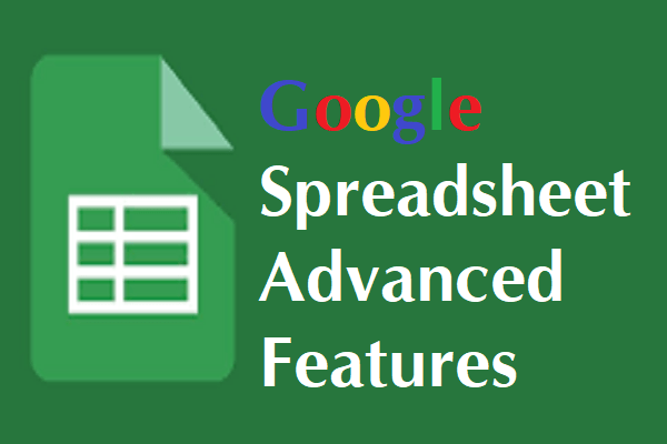 google sheets features image