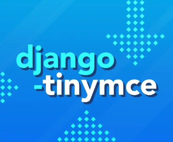 Integrating Django with TinyMCE example image